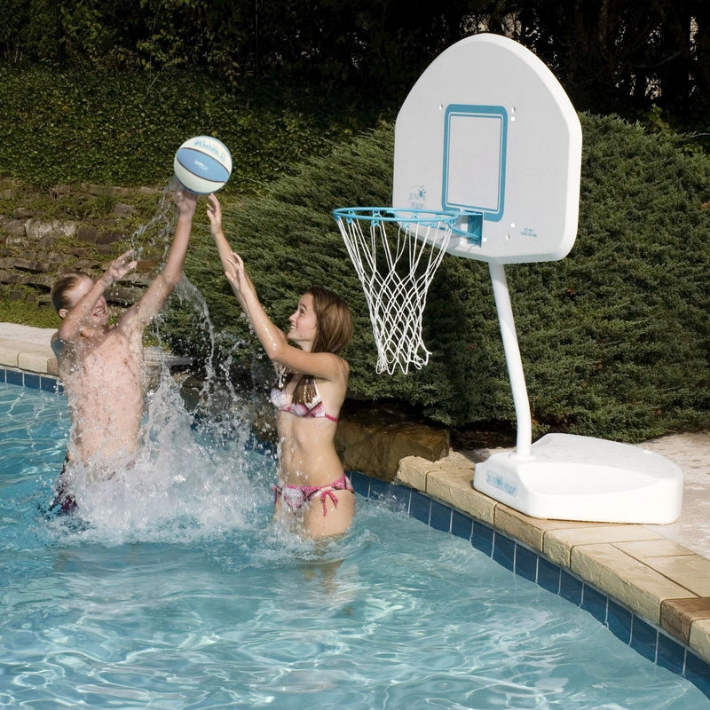 DunnRite Junior Hoop Stainless Portable Pool Basketball Set- - Anglo Dutch Pools & Toys