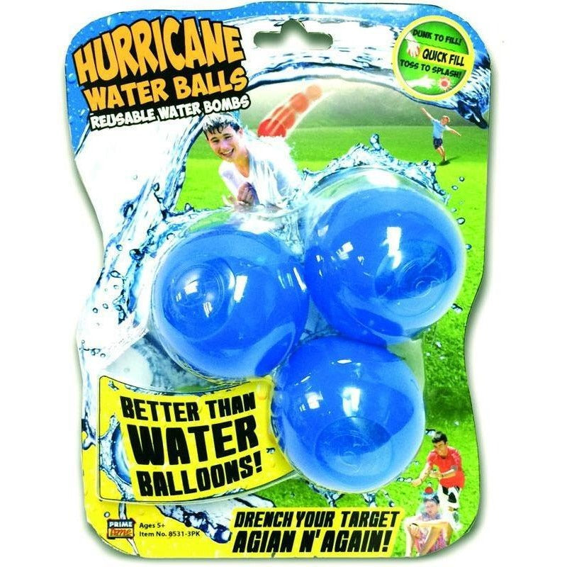 Pool Toys And Games - Prime Time Toys Hurricane Reusable Water Balls 3-Pack
