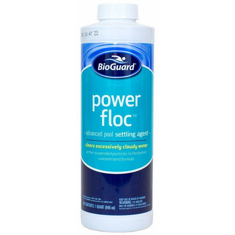 BioGuard PowerFloc (32 oz)- - Anglo Dutch Pools & Toys