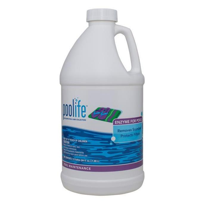 Pool Water Clarifiers - Poolife Enzyme For Pools (.5 Gal)