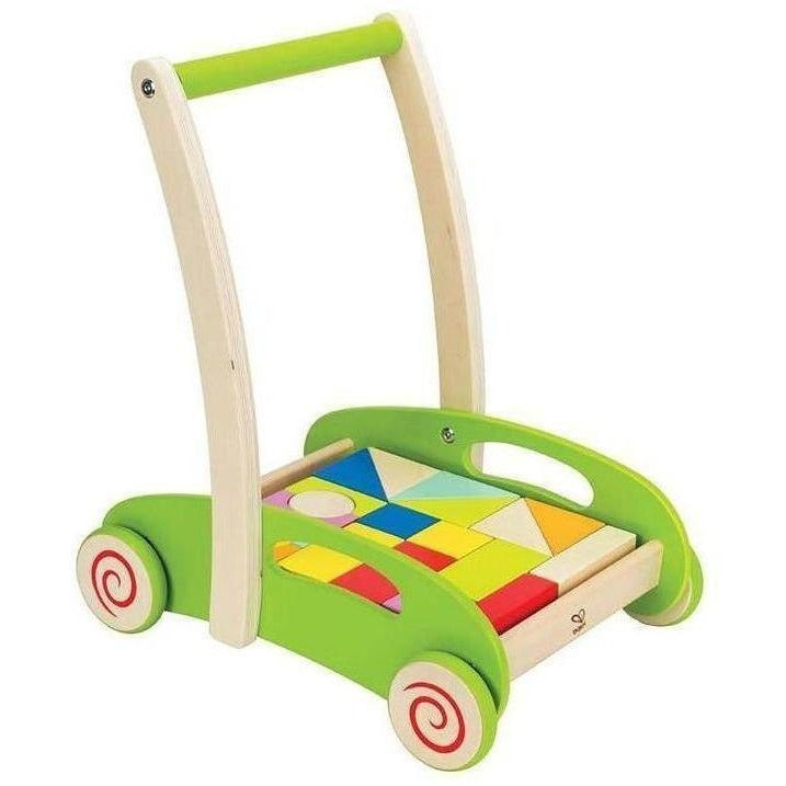 Hape Block and Roll - Push, Pull, and Ride-On Toys - Anglo Dutch Pools and Toys