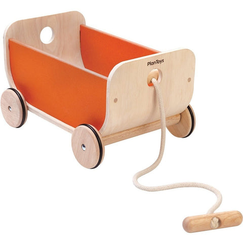 Push, Pull, And Ride-On Toys - Plan Toys Wagon