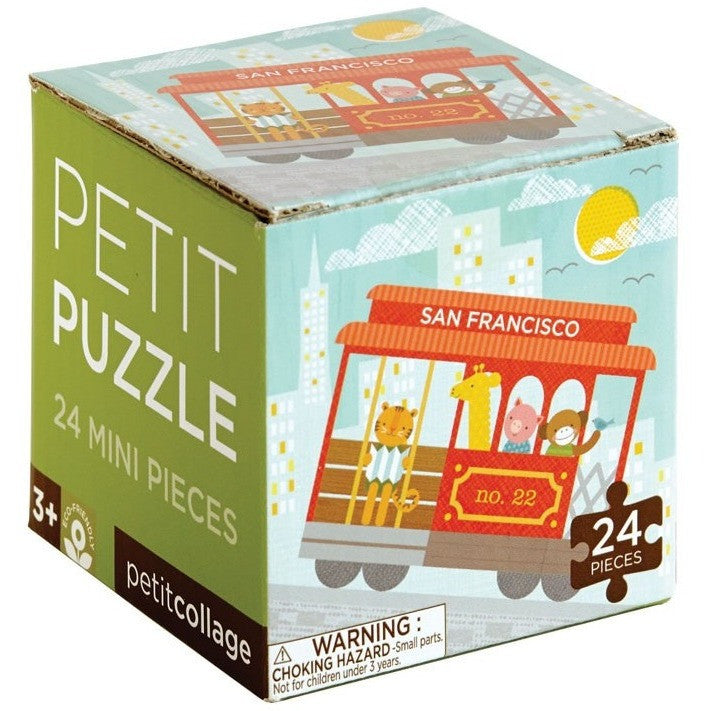 Petit Collage Petit San Francisco Trolley Puzzle - Jigsaw Puzzles - Anglo Dutch Pools and Toys