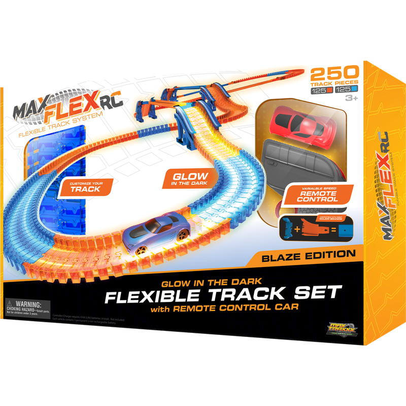 Racing Sets And R/C - Max Traxxx Max Flex RC 250 Blaze Edition