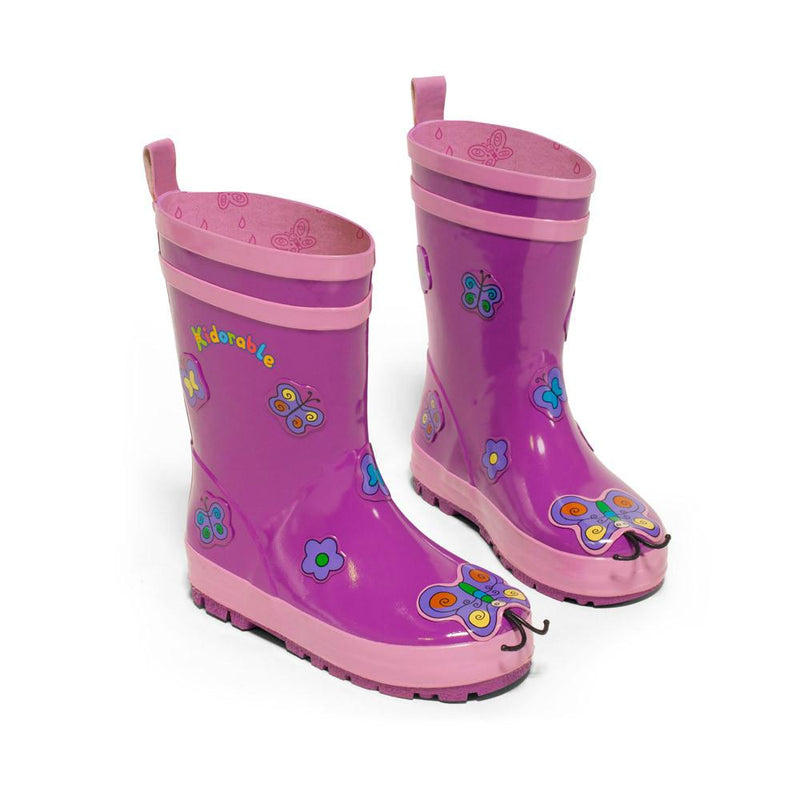 Rain Gear - Kidorable Butterfly Rain Boots