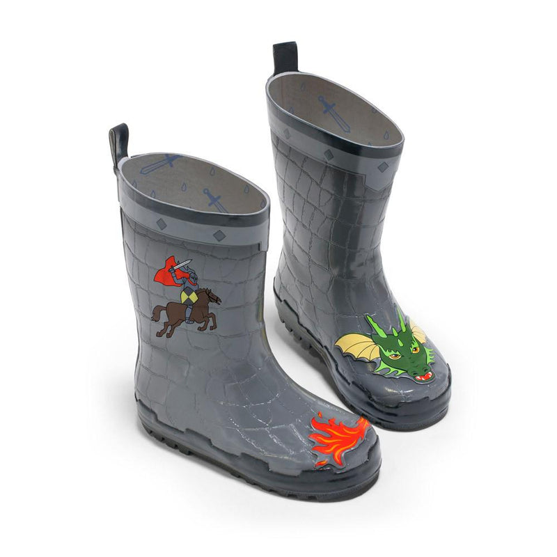 Rain Gear - Kidorable Dragon Knight Rain Boots