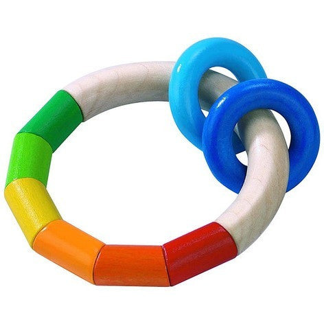 Haba Kringelring Teething Ring - Rattles and Teethers - Anglo Dutch Pools and Toys