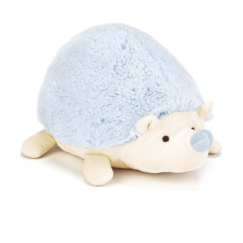 "Jellycat Happy Blue Hedgehog 9""- - Anglo Dutch Pools & Toys"