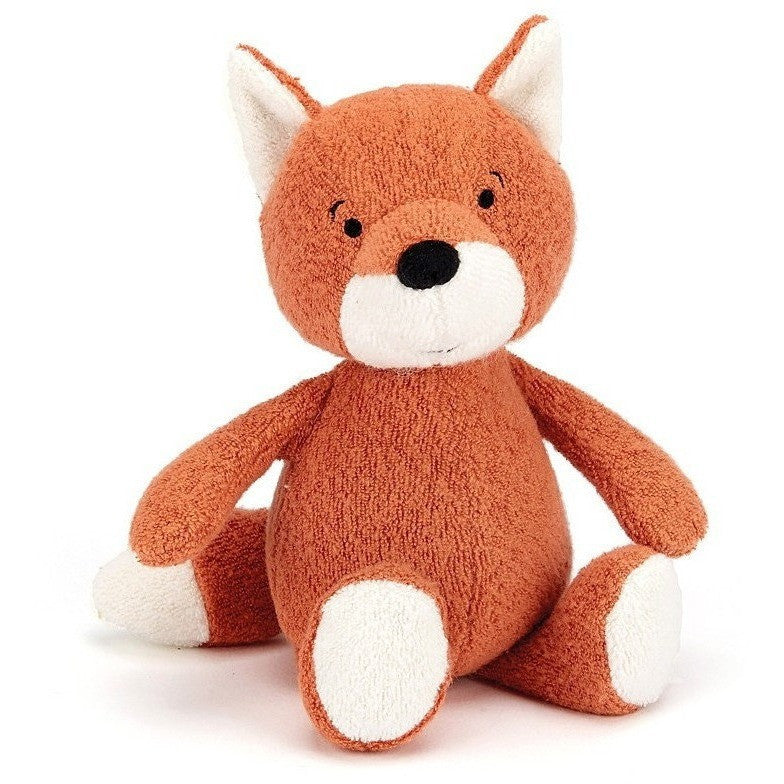 Rattles And Teethers - Jellycat Rumpus Fox Rattle 7""