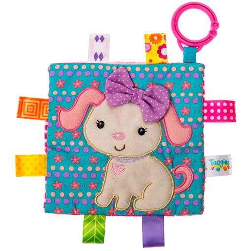 Rattles And Teethers - Taggies Crinkle Me Sister Puppy 6.5""