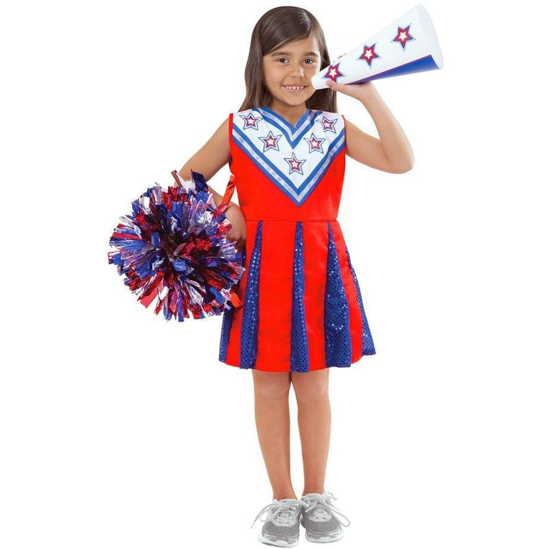 Melissa & Doug Cheerleader Role Play Costume Set