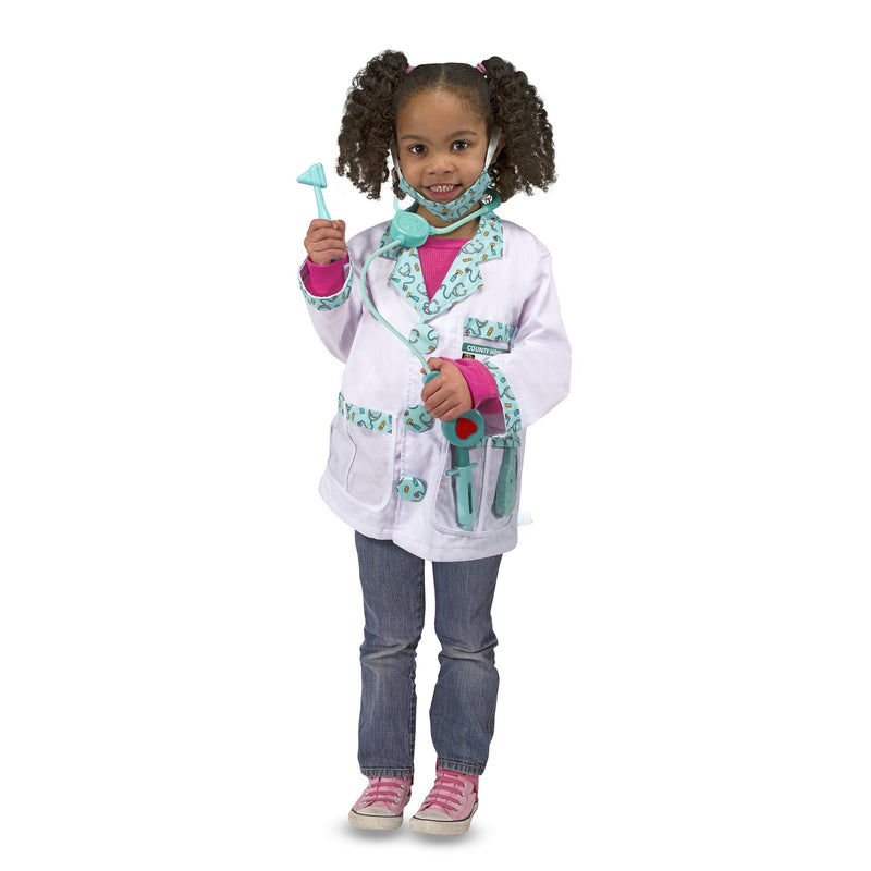 Role Play And Dress Up - Melissa & Doug Doctor Role Play Costume Set