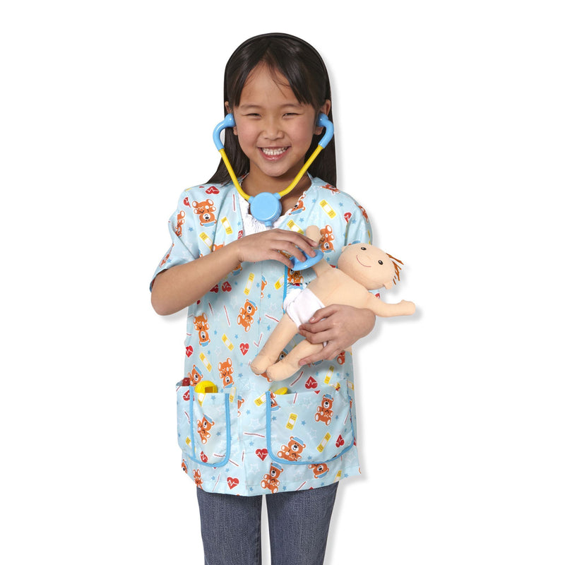 Role Play And Dress Up - Melissa & Doug Pediatric Nurse Role Play Costume Set