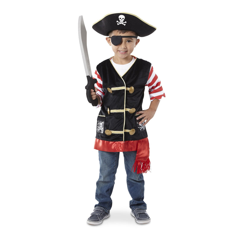 Role Play And Dress Up - Melissa & Doug Pirate Role Play Costume Set