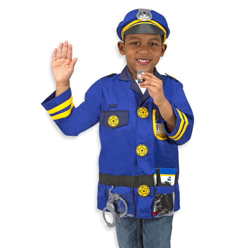 Role Play And Dress Up - Melissa & Doug Police Officer Role Play Costume Set