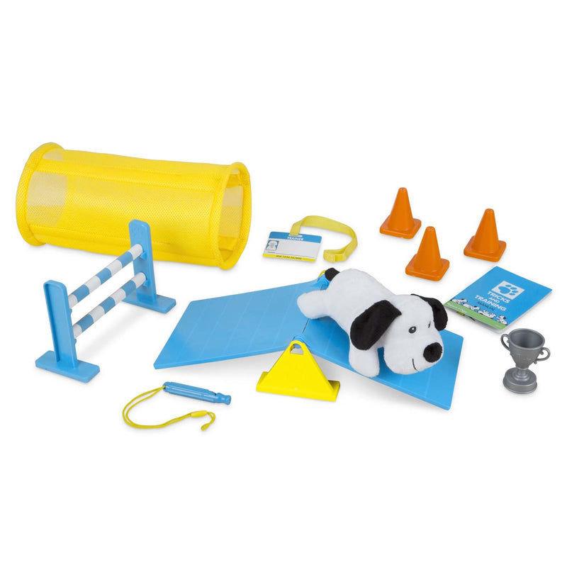 Role Play And Dress Up - Melissa & Doug Tricks & Training Puppy School Play Set