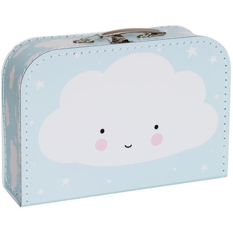 Room Decor And Storage - A Little Lovely Company Suitcase: Cloud Blue