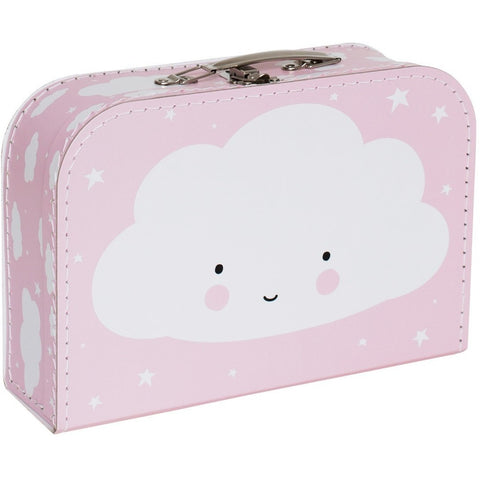 Room Decor And Storage - A Little Lovely Company Suitcase: Cloud Pink