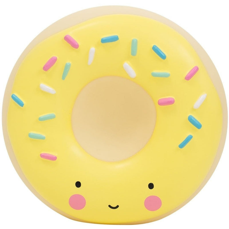 Room Decor And Storage - A Little Lovely Company Yellow Donut Money Box