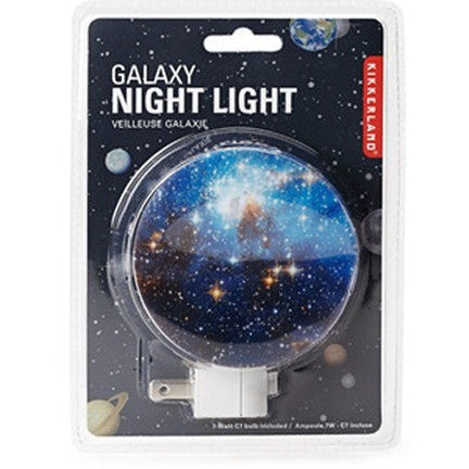 Kikkerland Galaxy Night Light - Room Decor and Storage - Anglo Dutch Pools and Toys