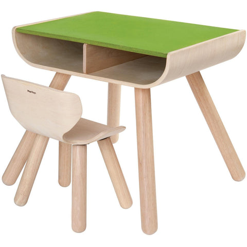 Plan Toys Table & Chair- - Anglo Dutch Pools & Toys  - 1