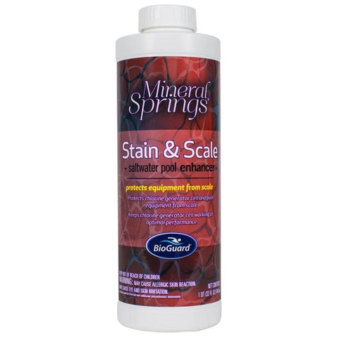 BioGuard Mineral Springs Stain and Scale (1 qt)- - Anglo Dutch Pools & Toys