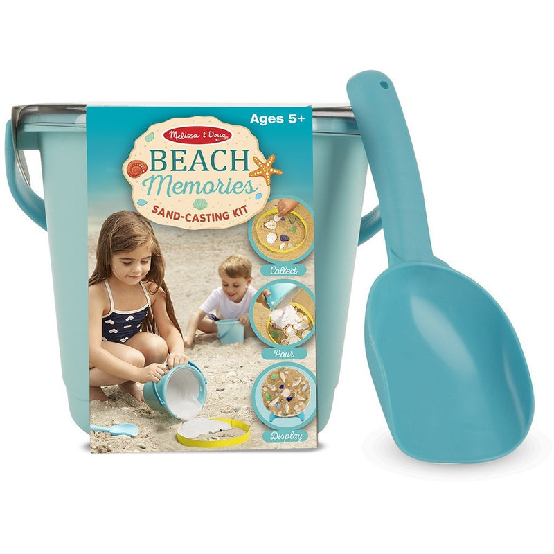 Melissa & Doug Beach Memories Sand-Casting Kit - Sand and Beach Toys - Anglo Dutch Pools and Toys