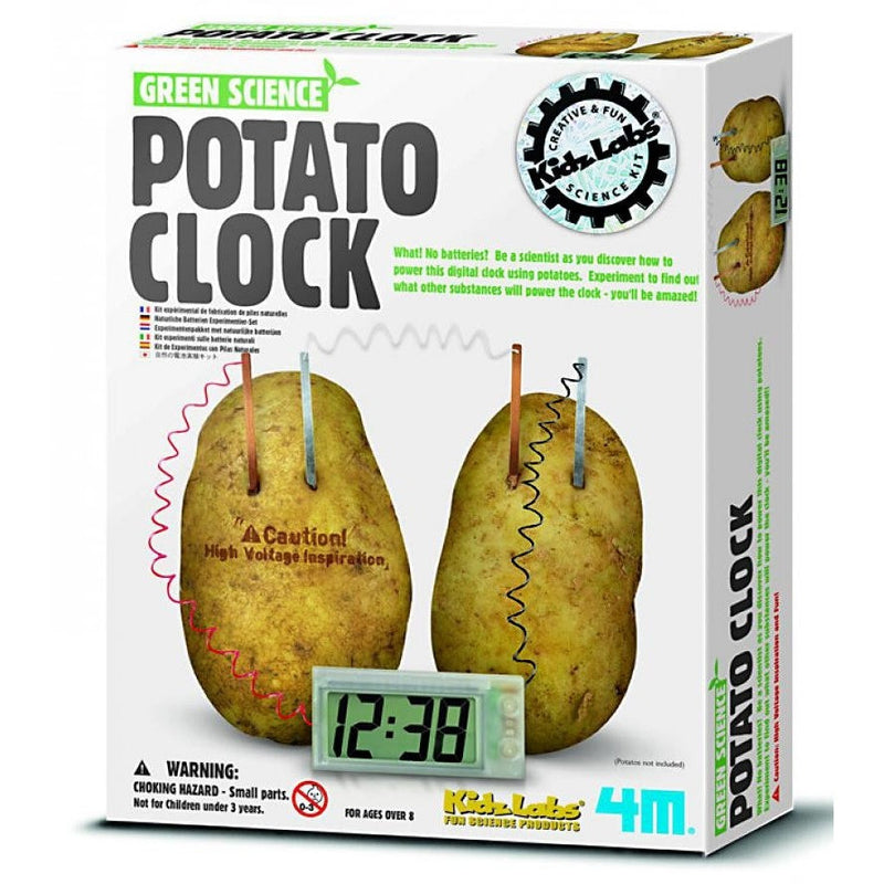 4M Potato Clock - Science Kits - Anglo Dutch Pools and Toys