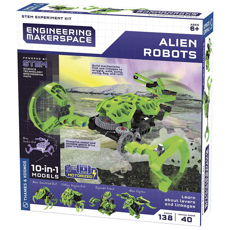Science Kits - Thames & Kosmos Engineering Makerspace Alien Robots