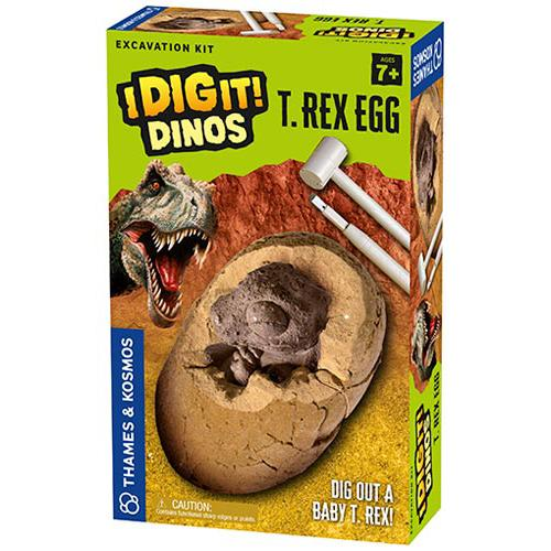Science Kits - Thames & Kosmos I Dig It! Dinos - T. Rex Egg Excavation Kit