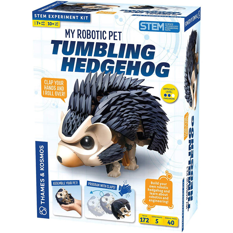 Science Kits - Thames & Kosmos My Robotic Pet - Tumbling Hedgehog