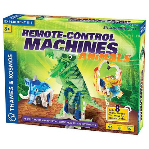 Thames & Kosmos Remote-Control Machines: Animals - Science Kits - Anglo Dutch Pools and Toys