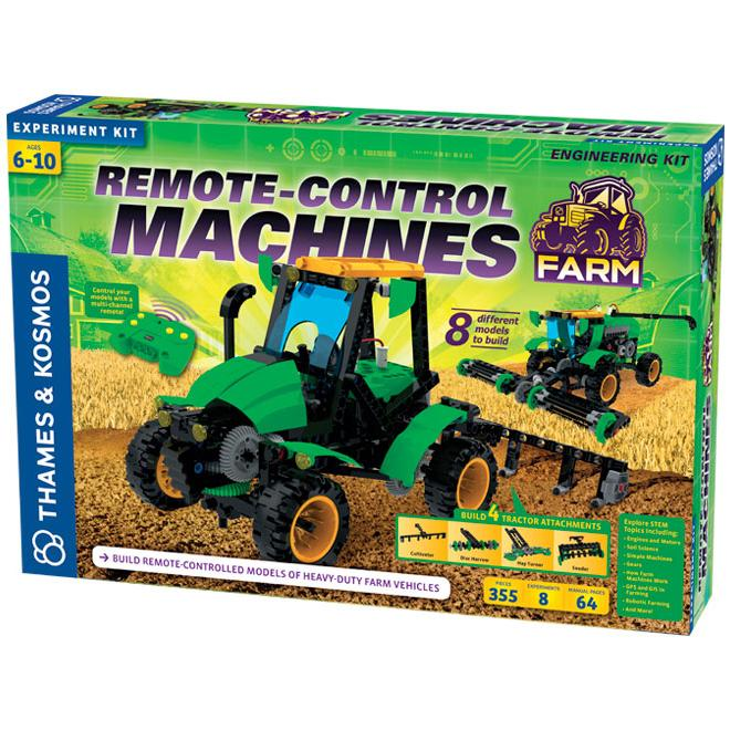 Science Kits - Thames & Kosmos Remote-Control Machines: Farm