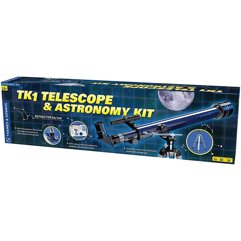 Science Kits - Thames & Kosmos TK1 Telescope & Astronomy Kit