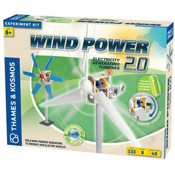 Thames & Kosmos Wind Power 2.0- - Anglo Dutch Pools & Toys  - 1