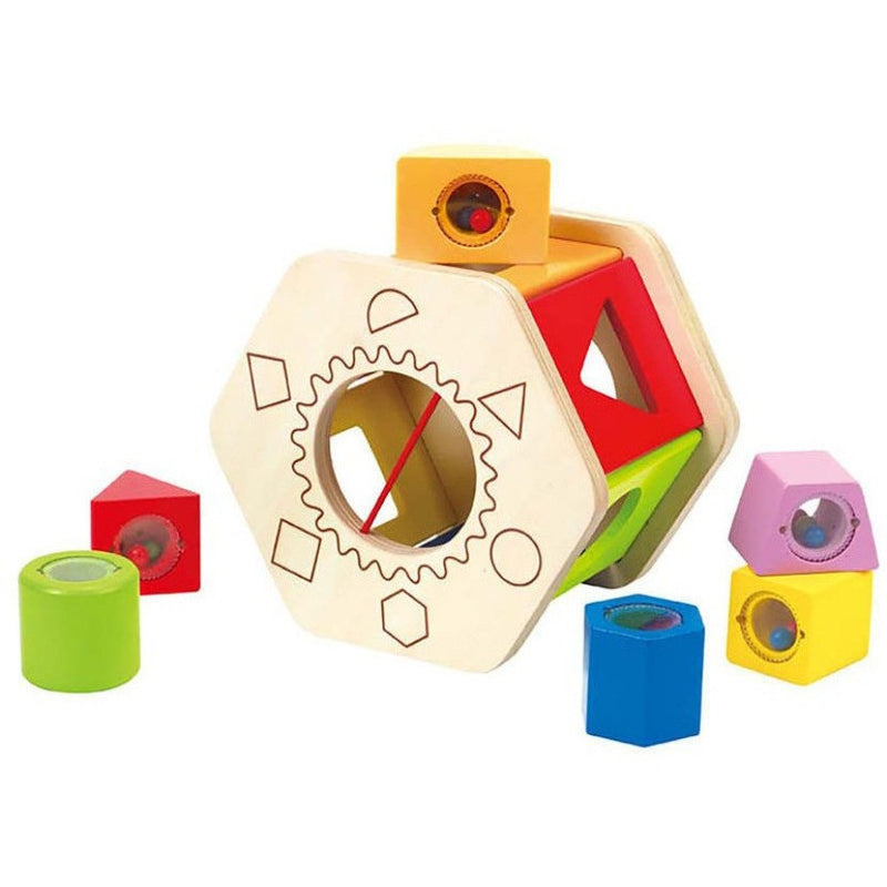 Hape Shake and Match Shape Sorter- - Anglo Dutch Pools & Toys  - 1