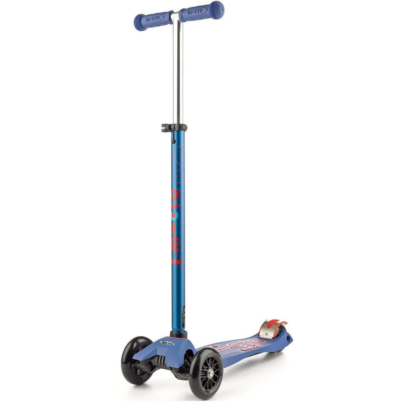 Micro Kickboard Maxi Deluxe Scooter- Blue- Anglo Dutch Pools & Toys  - 1