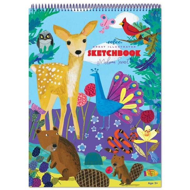 eeBoo Life on Earth Sketchbook - Sketchbooks - Anglo Dutch Pools and Toys