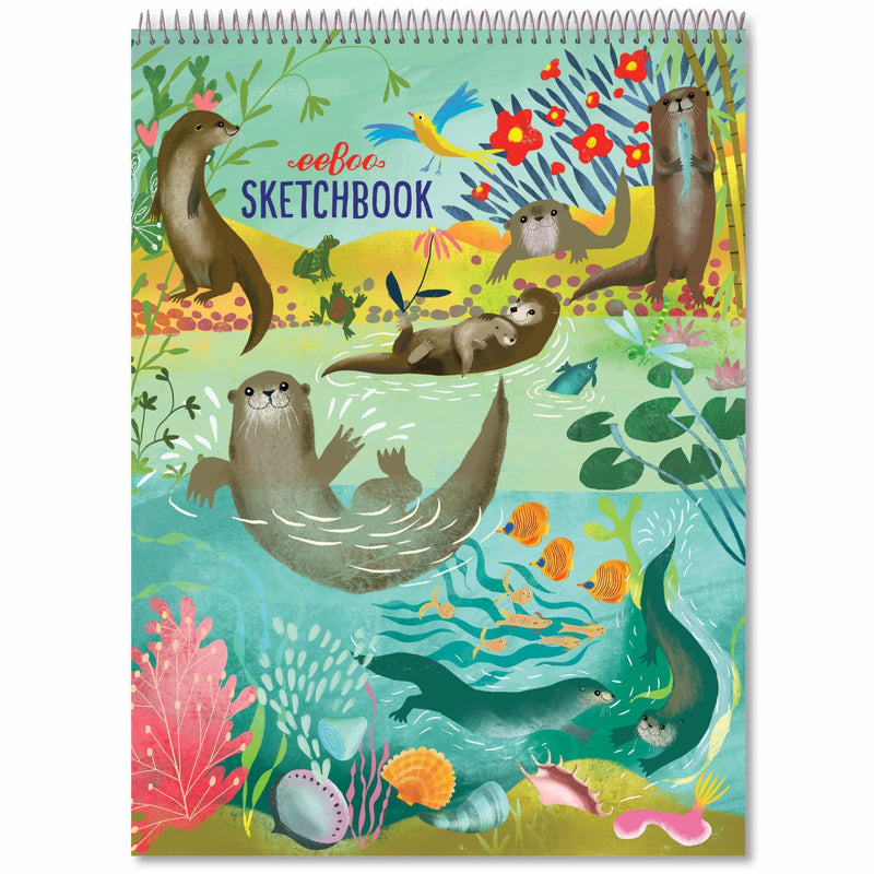 Sketchbooks - EeBoo Otters Sketchbook