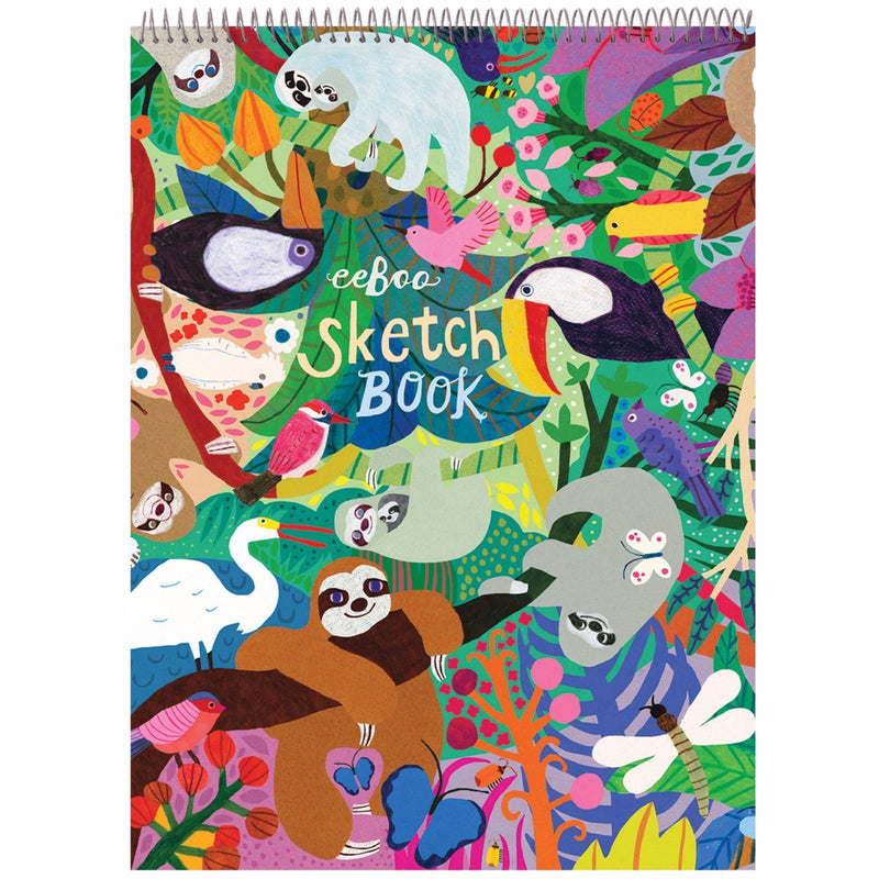 Sketchbooks - EeBoo Sloths Sketchbook