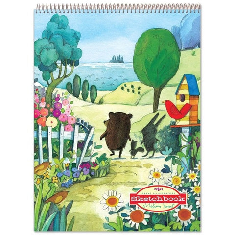 eeBoo Walk To The Sea Sketchbook- - Anglo Dutch Pools & Toys