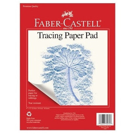 Faber-Castell Tracing Paper Pad - Sketchbooks - Anglo Dutch Pools and Toys