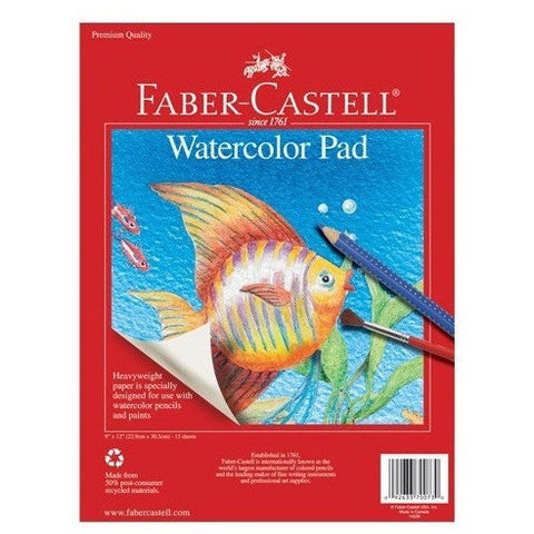 Faber-Castell Watercolor Pad- - Anglo Dutch Pools & Toys