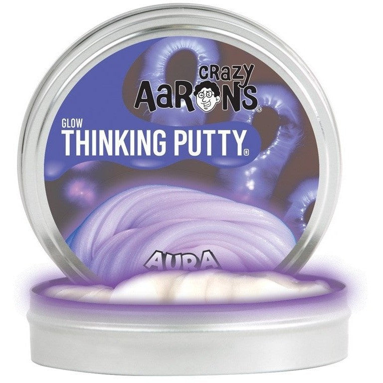 Slime And Putty Toys - Crazy Aaron's Glow In The Dark Thinking Putty