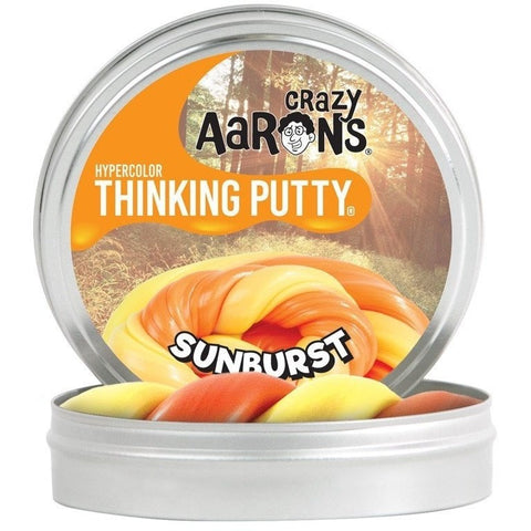 Slime And Putty Toys - Crazy Aaron's Heat Sensitive Hypercolor Thinking Putty