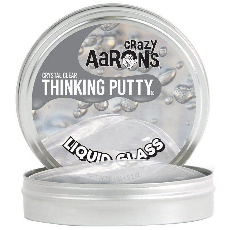 Slime And Putty Toys - Crazy Aaron's Liquid Glass Thinking Putty