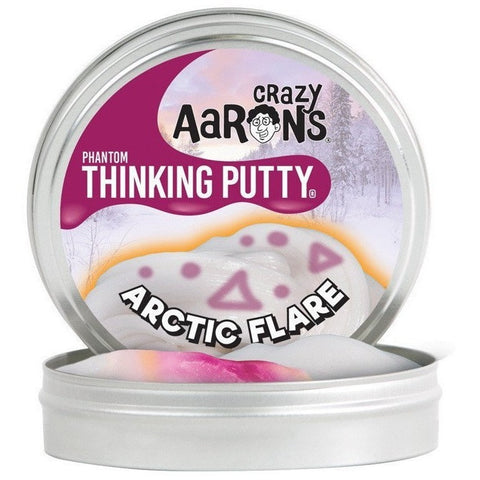 Slime And Putty Toys - Crazy Aaron's Phantom UV-Reactive Thinking Putty