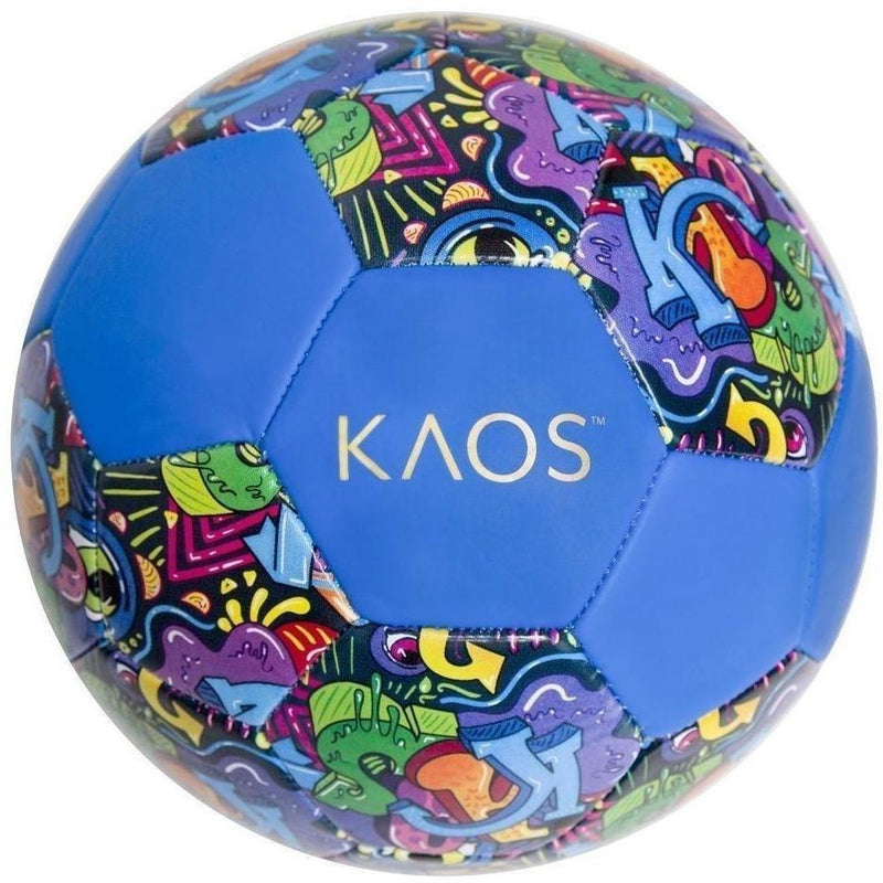 KAOS Soccer Ball- Color Bomb