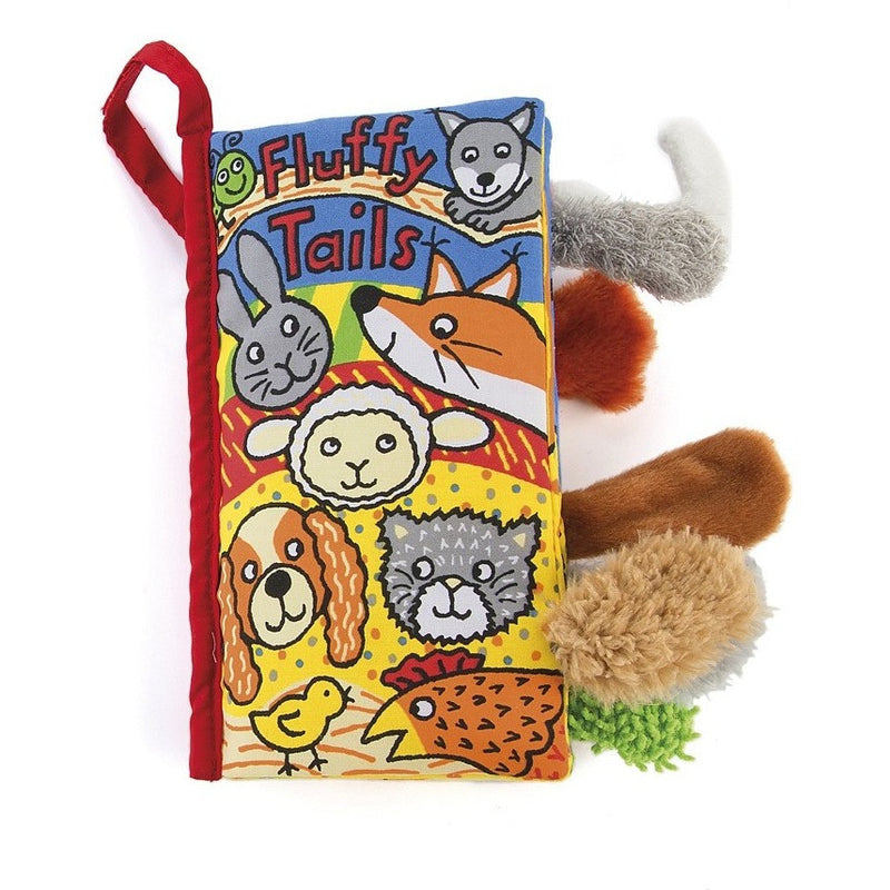 Jellycat Fluffy Tails Book - Soft Books - Anglo Dutch Pools and Toys