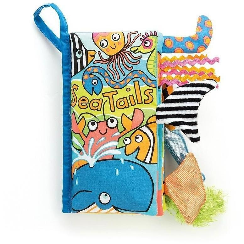 Soft Books - Jellycat Sea Tails Soft Book